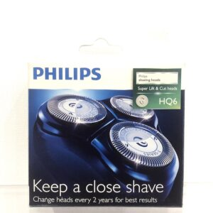 PHILIPS HQ6 SUPER LIFT & CUT HEADS SHAVING HEADS - SPARE PARTS