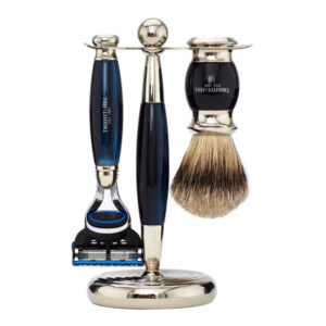 Truefitt & Hill Blue Opal Edwardian Shaving Set Fusion